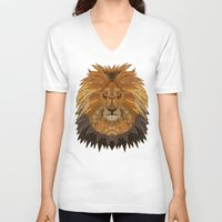 pride V-neck T-shirts featuring Pride by ArtLovePassion