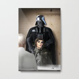 Jyn's in trouble Metal Print