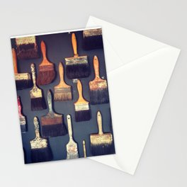 Brush Stationery Cards