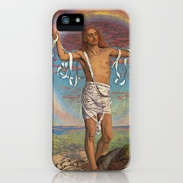 Christ and the Two Marys iPhone Case