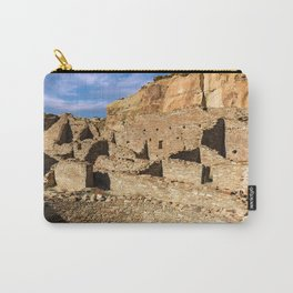Pueblo Bonito in Chaco Canyon Carry-All Pouch
