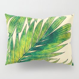 Palms #palm #palms #flower Pillow Sham