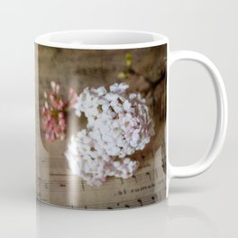 Flowers and music Coffee Mug