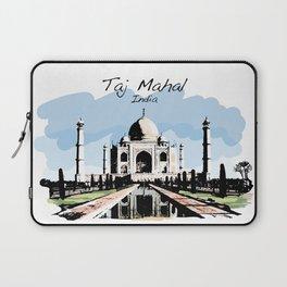 Taj Mahal Agra India Laptop Sleeve