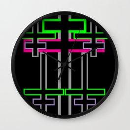CROSS OVER Wall Clock