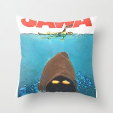JAWA Throw Pillow