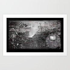 #ERROR57.08 Art Print