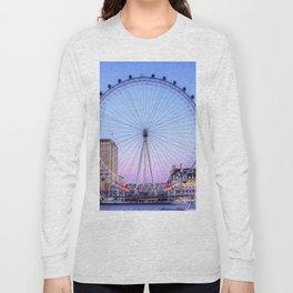 The London Eye, London Long Sleeve T-shirt