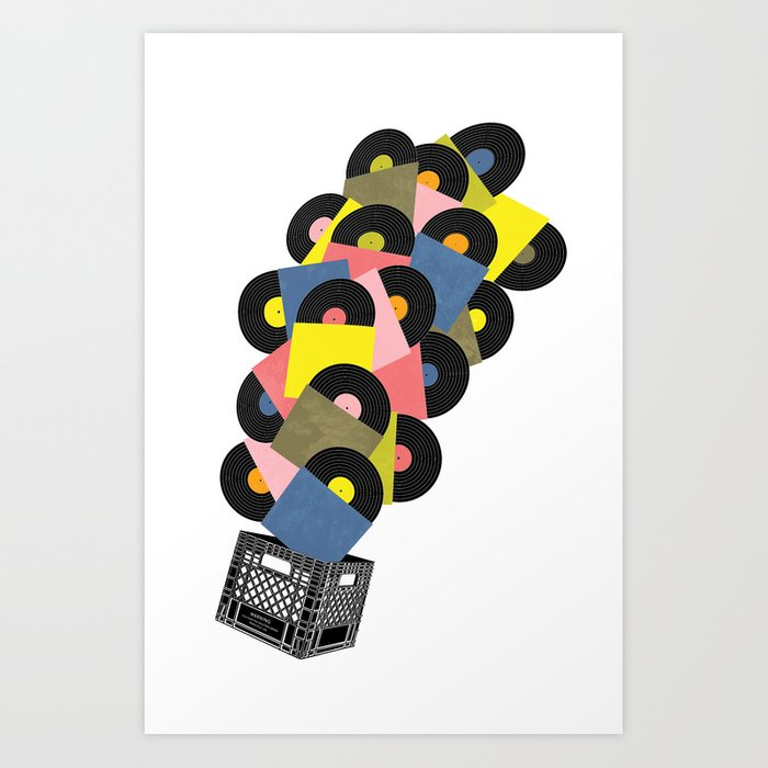 Untitled (Hi-Fidelity) Art Print