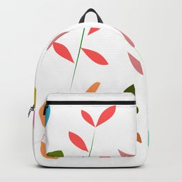 Colorful grasses Backpack
