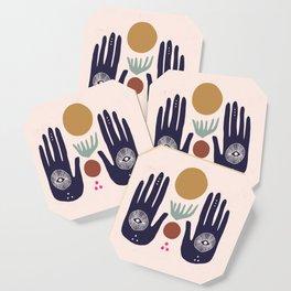 Hasma Hand Mural Coaster