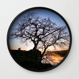 Tree Love Wall Clock