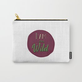 """I am wild,"" replied Grantaire. Carry-All Pouch"
