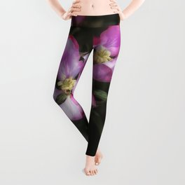 Pink Apple Blossoms Leggings