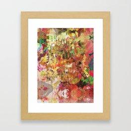 Floral Frenzy Framed Art Print