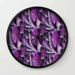 Leaf Madness Wall Clock