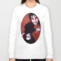 lydia martin Long Sleeve T-shirts featuring Lydia Deetz by Rouble Rust
