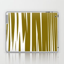 gold lines, wild ethno Elements gold Laptop & iPad Skin
