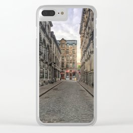 Empty Old Montreal Clear iPhone Case