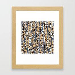 Raster 3 Framed Art Print