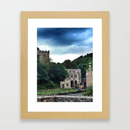The Lourdes of Wales - iPhoneography Framed Art Print