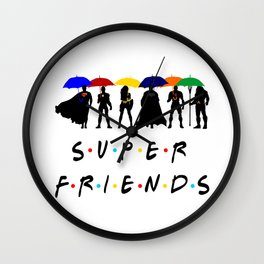 Super Friends JL Wall Clock