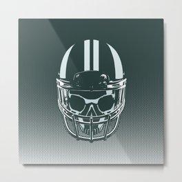 Final Touchdown - FADED CERULEAN Metal Print