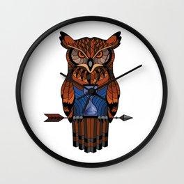 Owl time Wall Clock