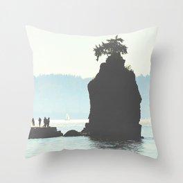 West Coast Living Throw Pillow