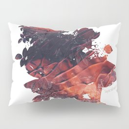 Mask Flow Fire Pillow Sham