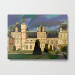 Fontainebleau Metal Print