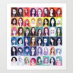 Muses, Full Series Art Print