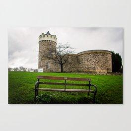 Bristol- Bench Canvas Print