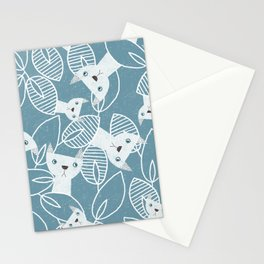 Peaking Cats Stationery Cards