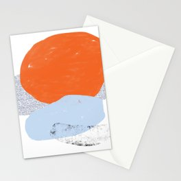 Abstract Desert Landscape 2 Stationery Cards
