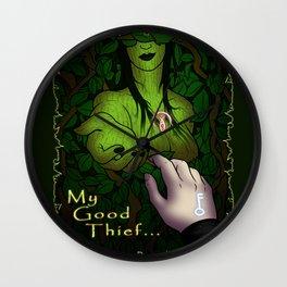 Viktoria My good Thief Garrett Wall Clock