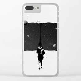 Stand magical. Clear iPhone Case