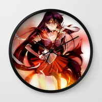 mars Wall Clocks featuring Mars by Athena_cg