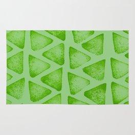 Irregular green Rug