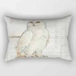 SnowOwl Rectangular Pillow