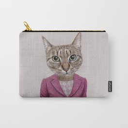 cat Mrs Carry-All Pouch