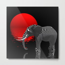 my digiphant Metal Print