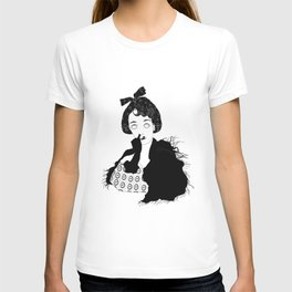 chocolat noir T-shirt