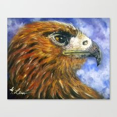 Title: Red Hawk Canvas Print