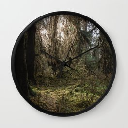 Rainforest Adventure - Nature Photography Wall Clock