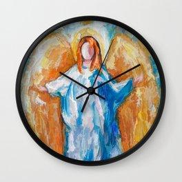 Angel Of Harmony 18x24 Wall Clock