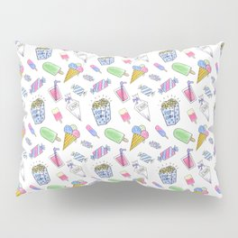 Birthday party candy art Pillow Sham