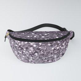 Sparkling Lavender Lady Glitter #2 #shiny #decor #art #society6 Fanny Pack