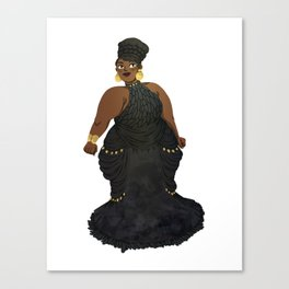 Dress #2 Canvas Print