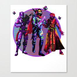 Fireteam Canvas Print